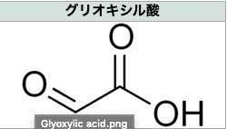 グリオキシル酸の注意点について サムネイル